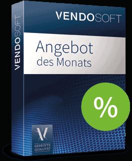 Gebrauchte Software im Angebot des Monats bei Vendosoft