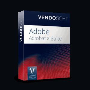 Adobe Acrobat X Suite 1.0 Win gebraucht