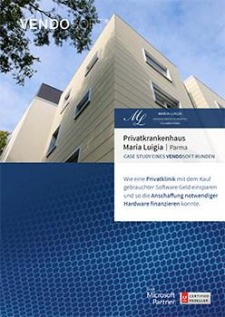 Casestudy Maria Luigia Krankenhaus gebrauchte Software Lizenzen