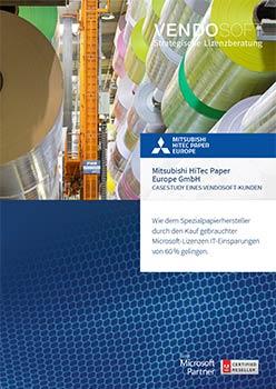 CaseStudy_Mitsubishi HighTec Paper Kauf gebrauchte Software