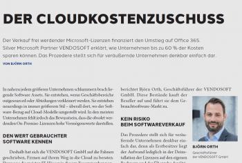 On Premise als Cloudkostenzuschuss