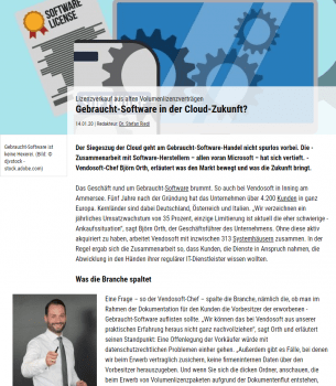 IT Business Gebrauchtsoftware in der Cloud