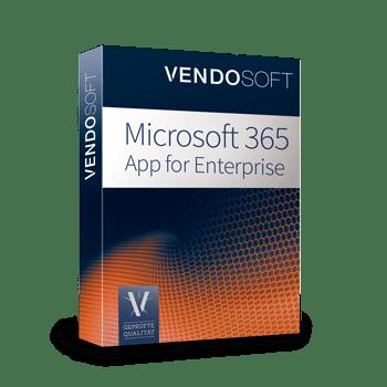 Microsoft 365 App for Enterprise - Microsoft Cloud Produkte bei Vendosoft lizenzieren