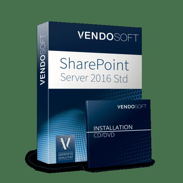 Microsoft SharePoint Server 2016 Standard - gebraucht günstig bei VENDOSOFT