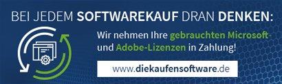 Wir kaufen Ihre gebrauchten Software Lizenzen