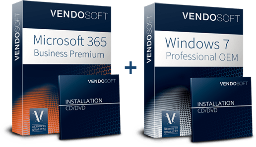 Hybride Cloud Produkte - MS 365 und Windows 7
