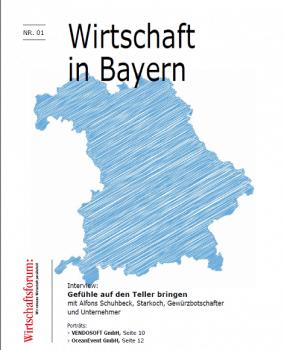 ePaper_Wirtschaft in Bayern_Wirtschaftsforum_VENDOSOFT-Interview_Dez2018_Cover