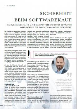 Sicherheit beim Softwarekauf