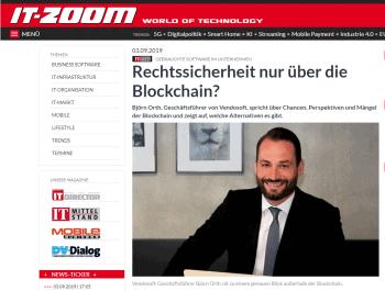 it-zoom über Sicherheit gebrauchter Software in Unternehmen