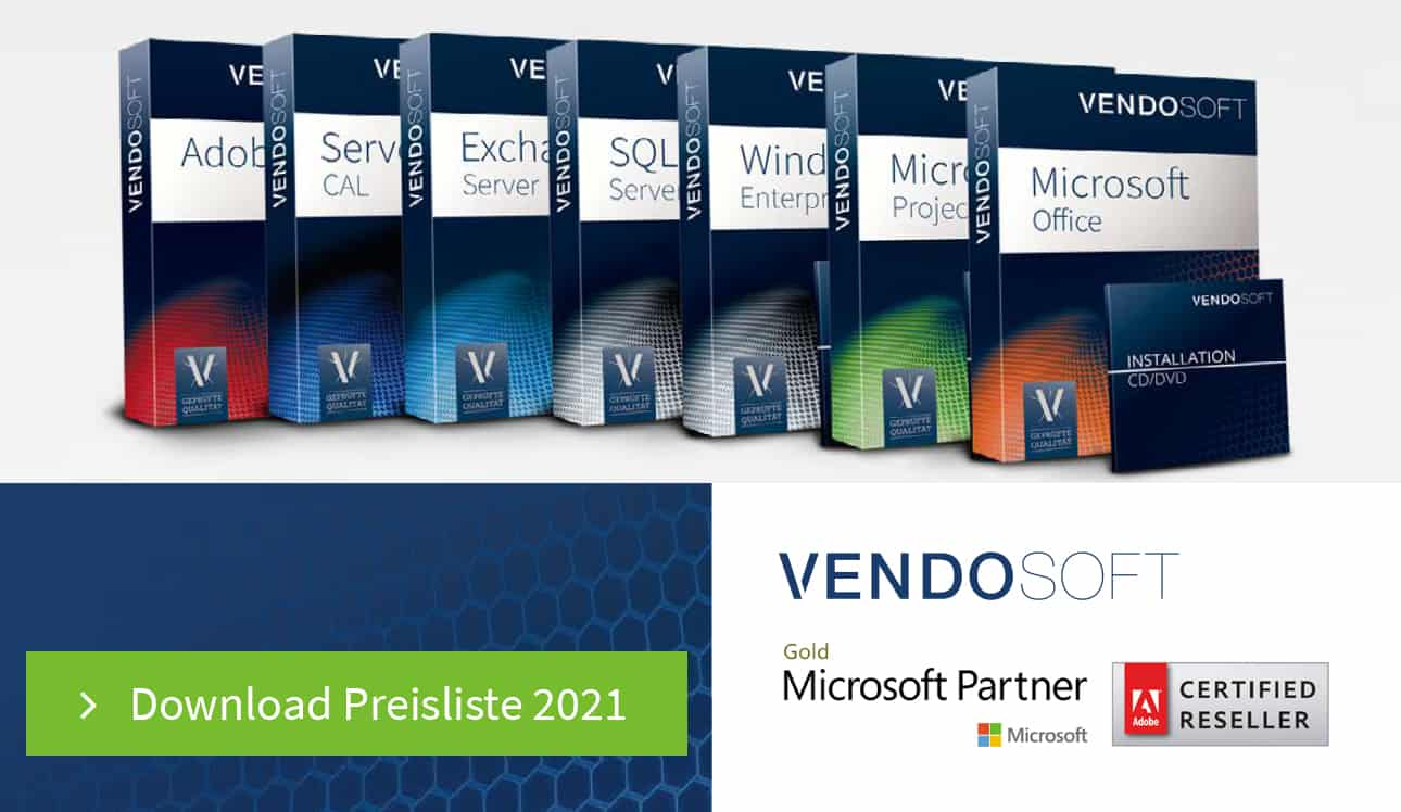 Download VENDOSOFT Preisliste